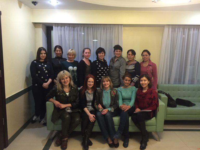 Тренинг для Женской сети ЛЖВ Казахстана и Таджикистана